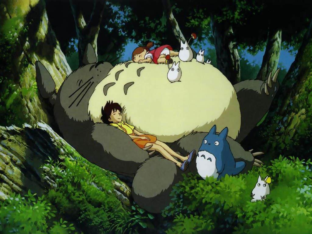 Papel de Parede Gratuito de Desenhos : Totoro