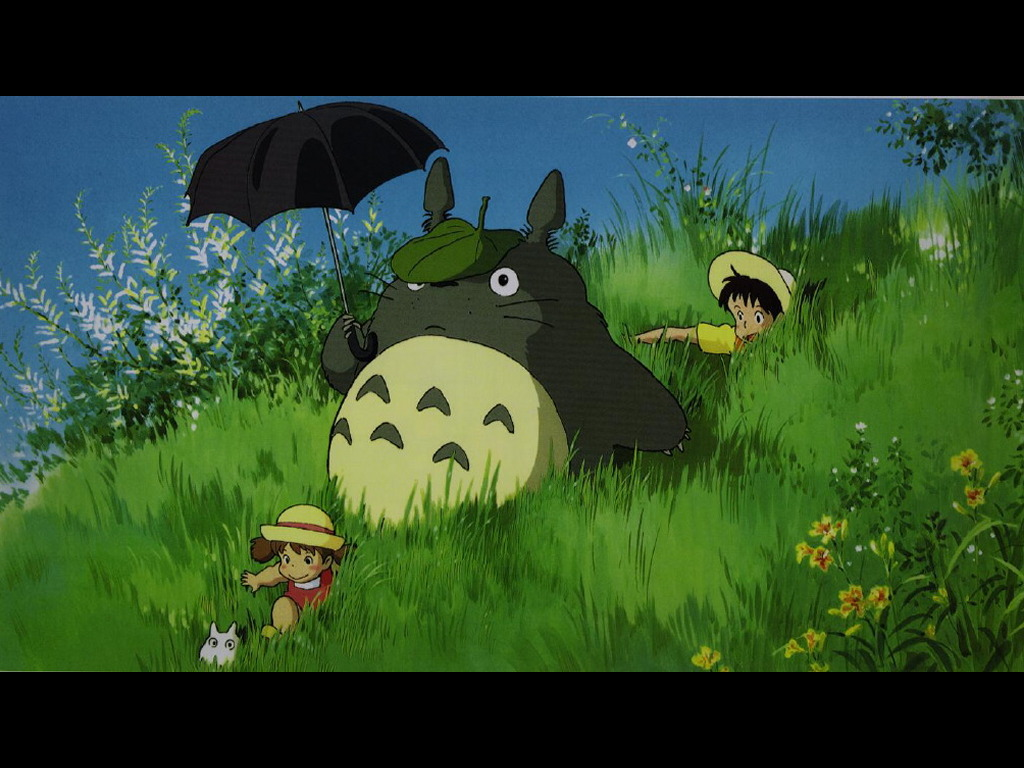 Cartoons Wallpaper: Totoro