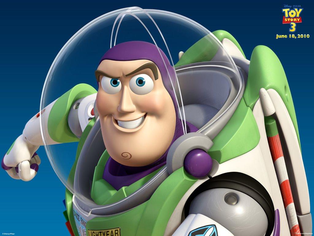 Cartoons Wallpaper: Toy Story 3 - Buzz