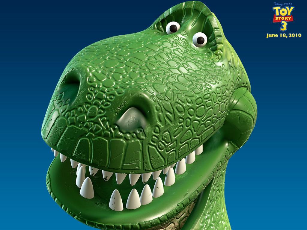 Cartoons Wallpaper: Toy Story 3 - Rex