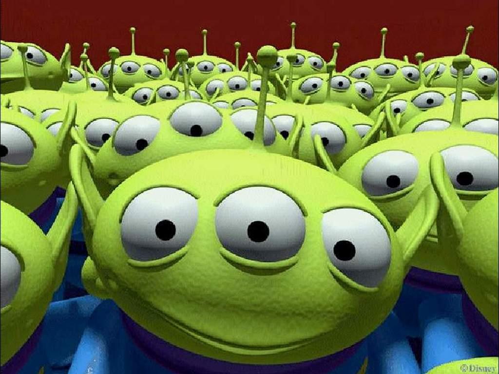 Cartoons Wallpaper: Toy Story - Aliens
