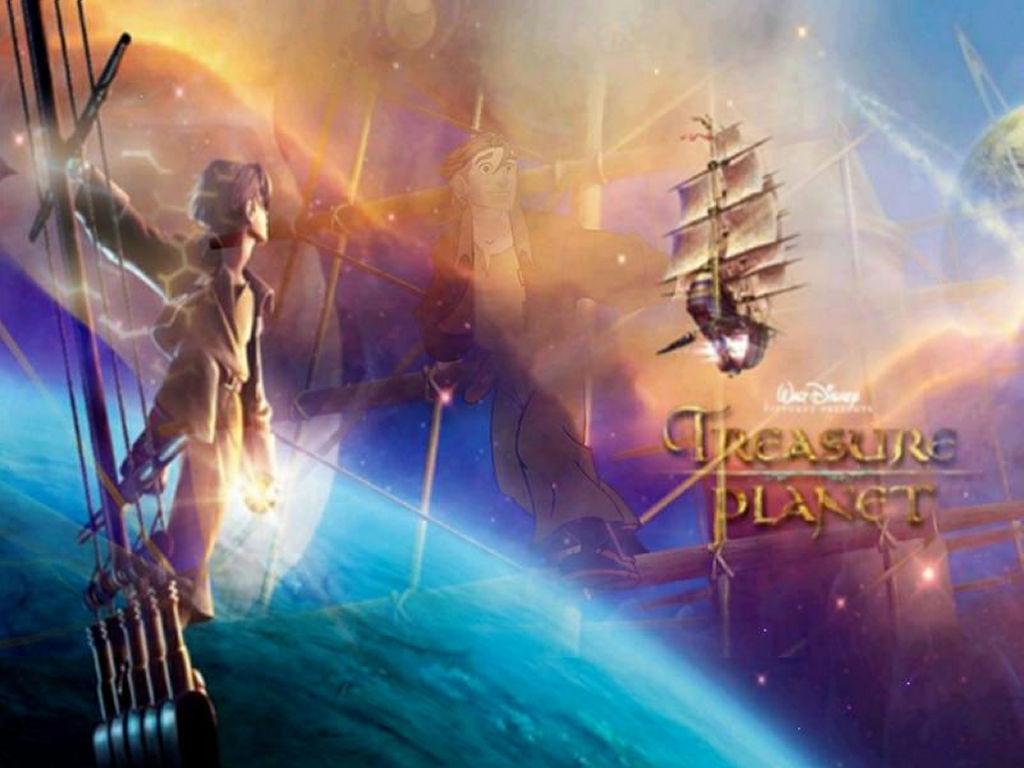Cartoons Wallpaper: Treasure Planet