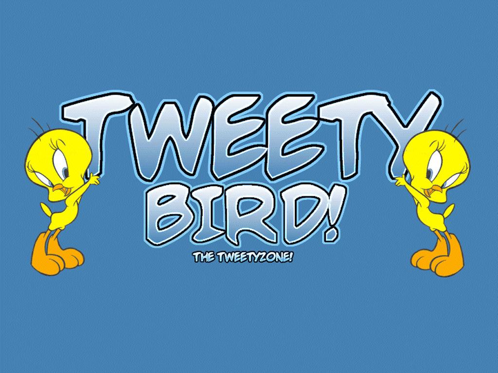 Cartoons Wallpaper: Tweety Bird
