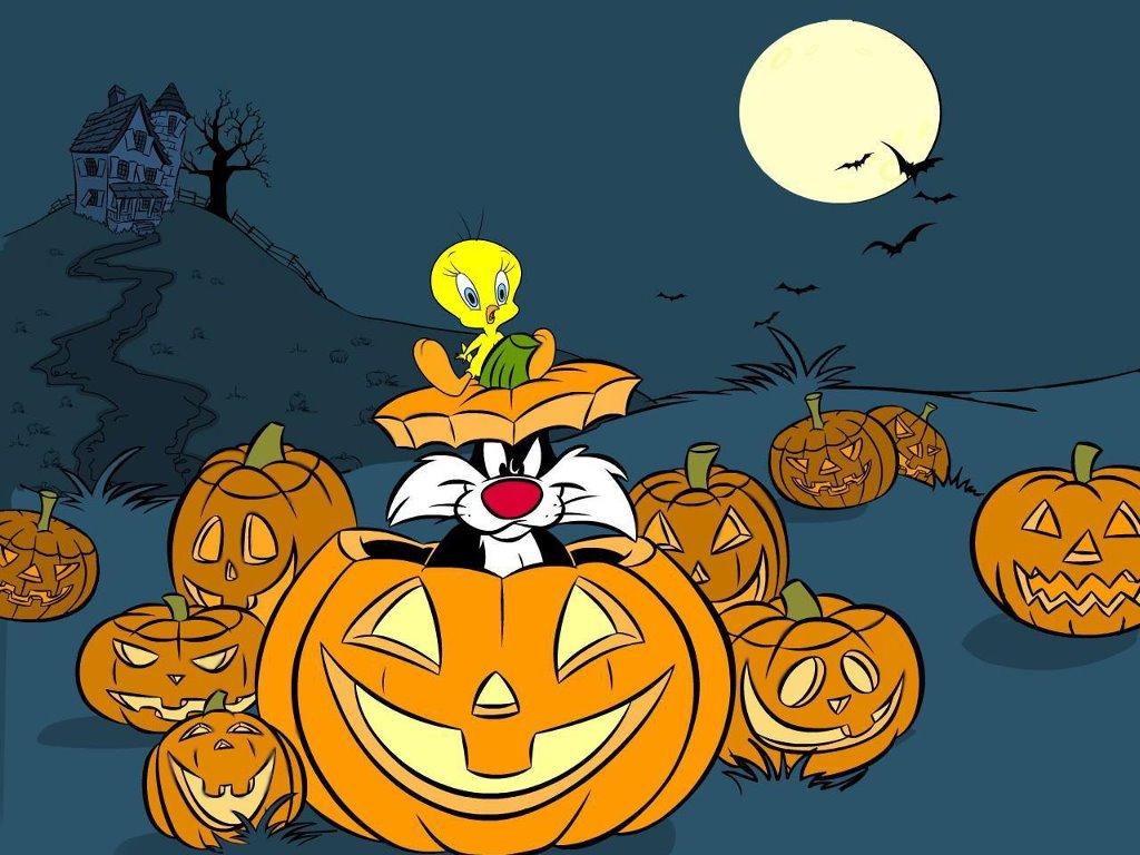 Cartoons Wallpaper: Tweety - Halloween
