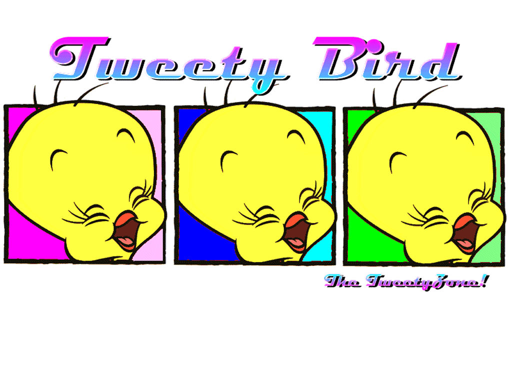 Cartoons Wallpaper: Tweety