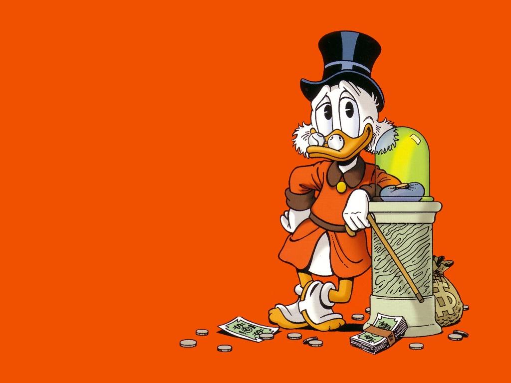 Cartoons Wallpaper: Uncle Scrooge