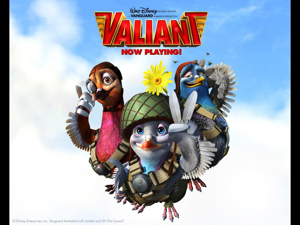 Cartoons Wallpaper: Valiant