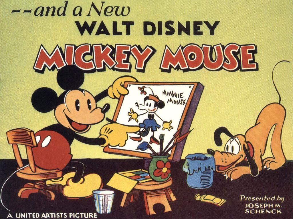 Cartoons Wallpaper: Vintage Mickey