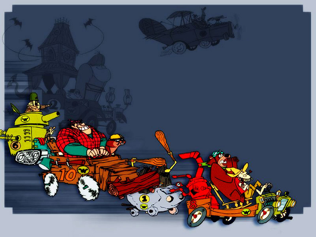 Cartoons Wallpaper: Wacky Races