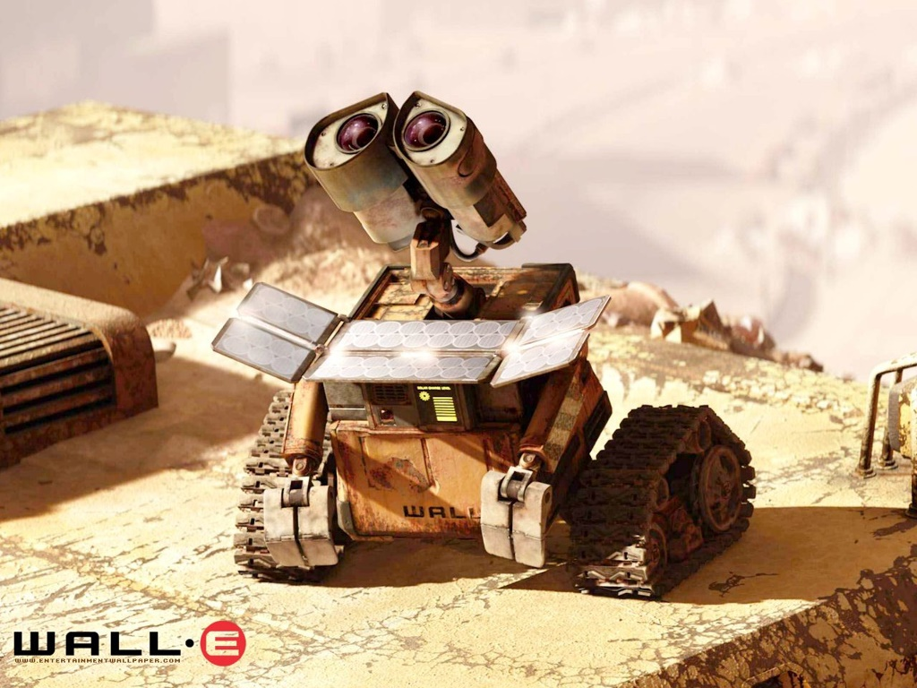 Cartoons Wallpaper: Wall-E