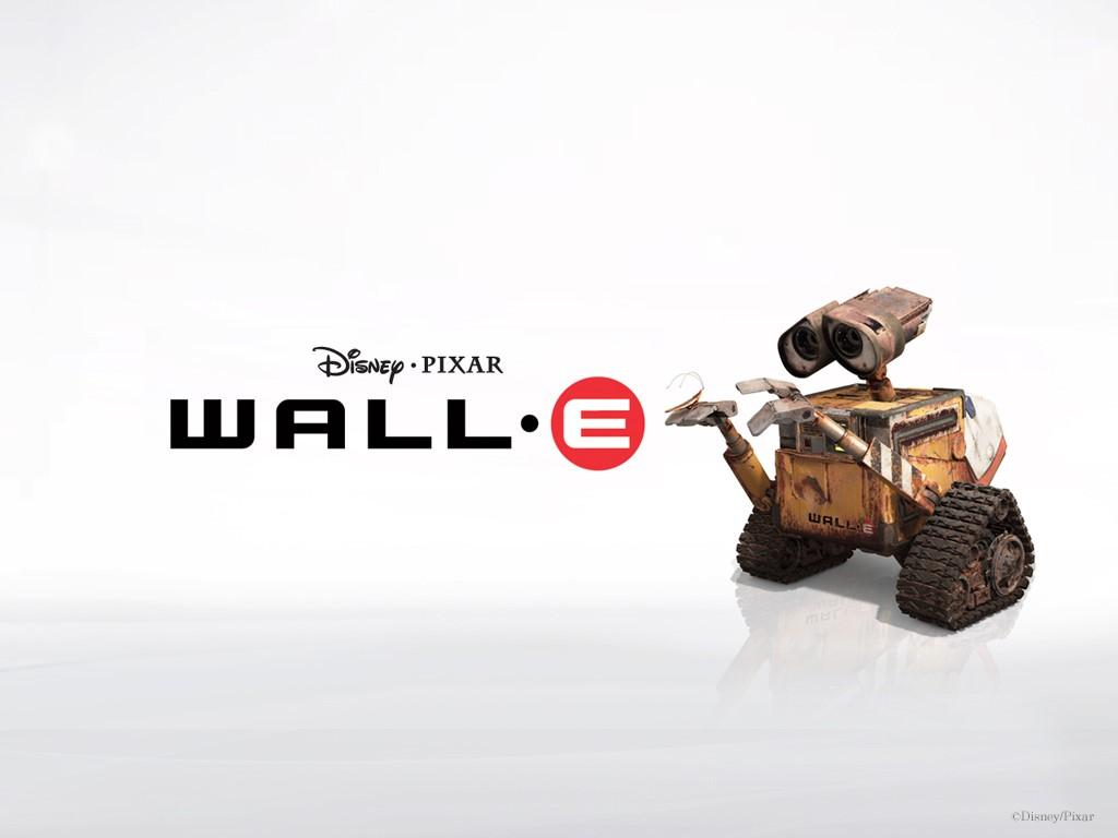 Cartoons Wallpaper: Wall-E