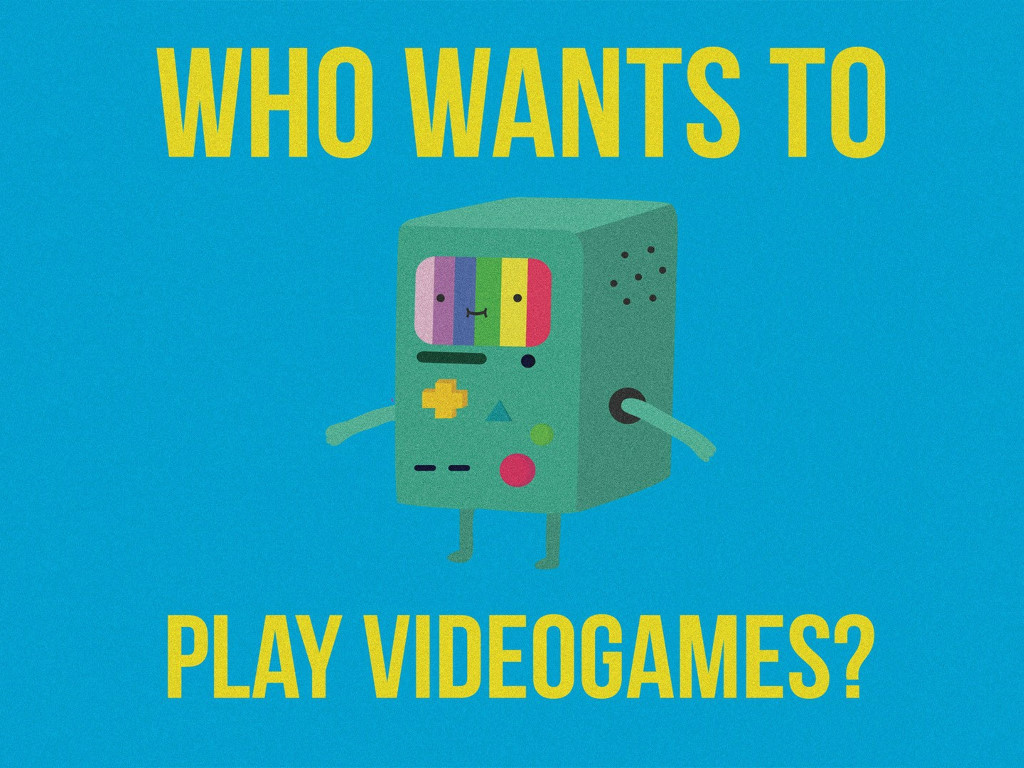 Cartoons Wallpaper: BMO - Who Wants to Play Videogames