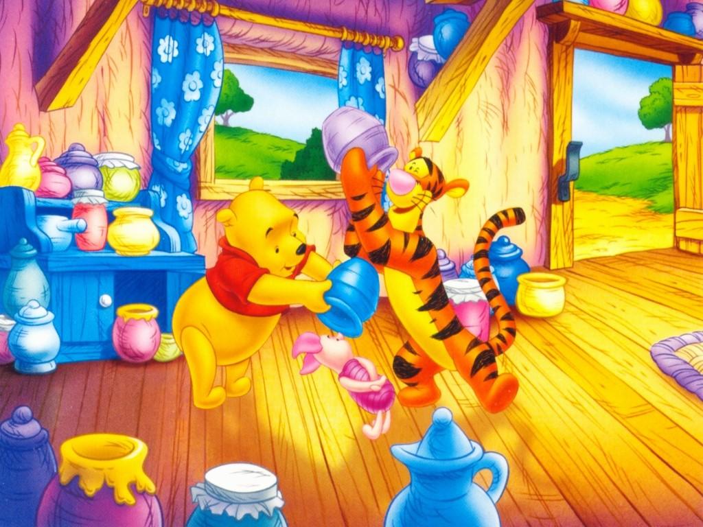 Cartoons Wallpaper: Winnie the Pooh