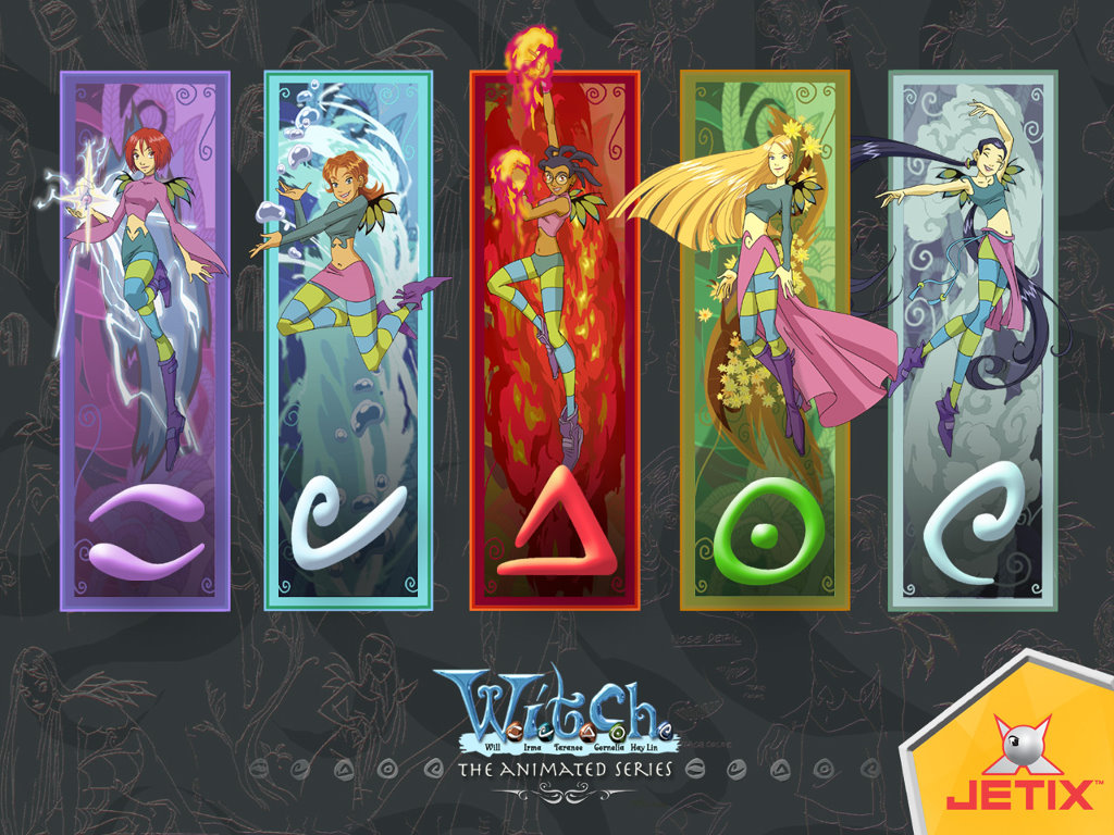 Cartoons Wallpaper: W.I.T.C.H. - The Animated Series