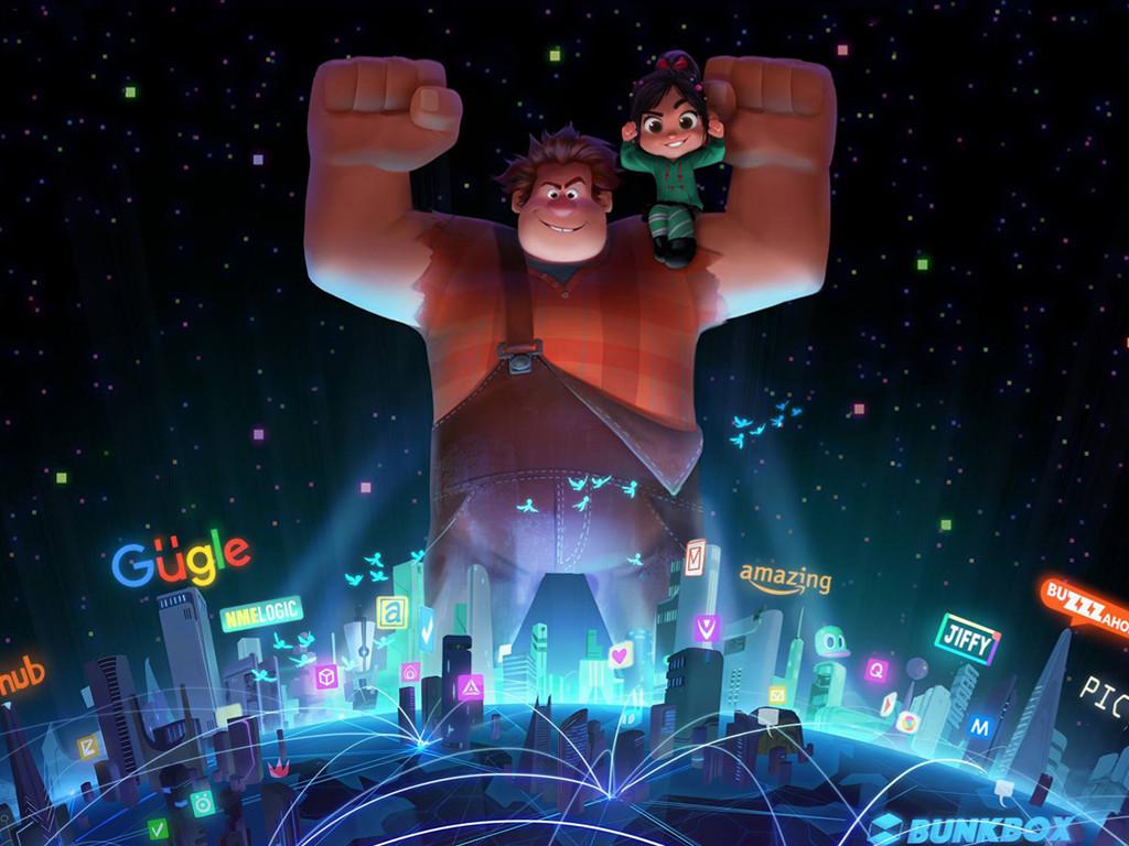 Cartoons Wallpaper: Wreck-It Ralph 2