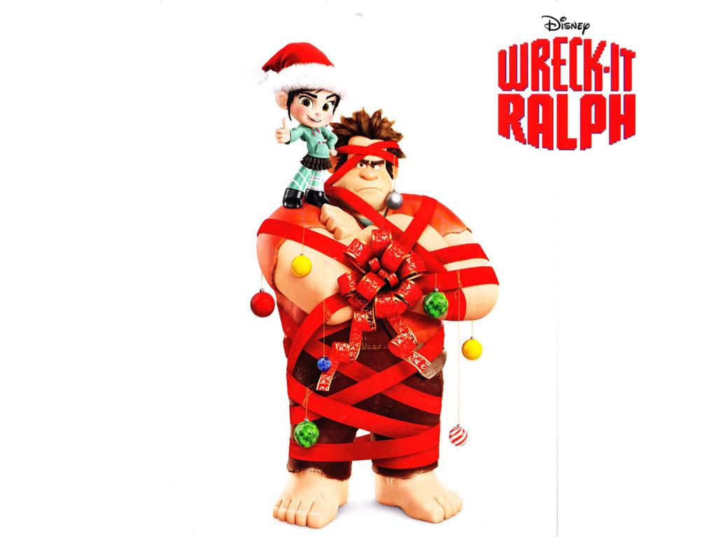 Cartoons Wallpaper: Wreck-It Ralph - Christmas