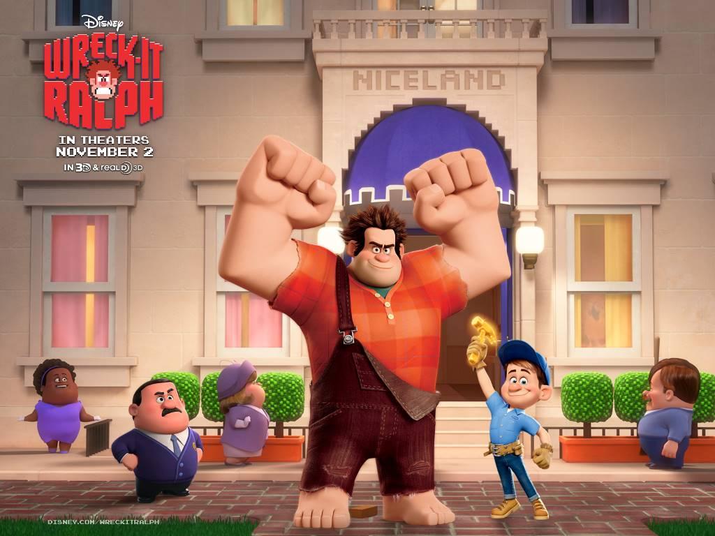 Cartoons Wallpaper: Wreck-It Ralph
