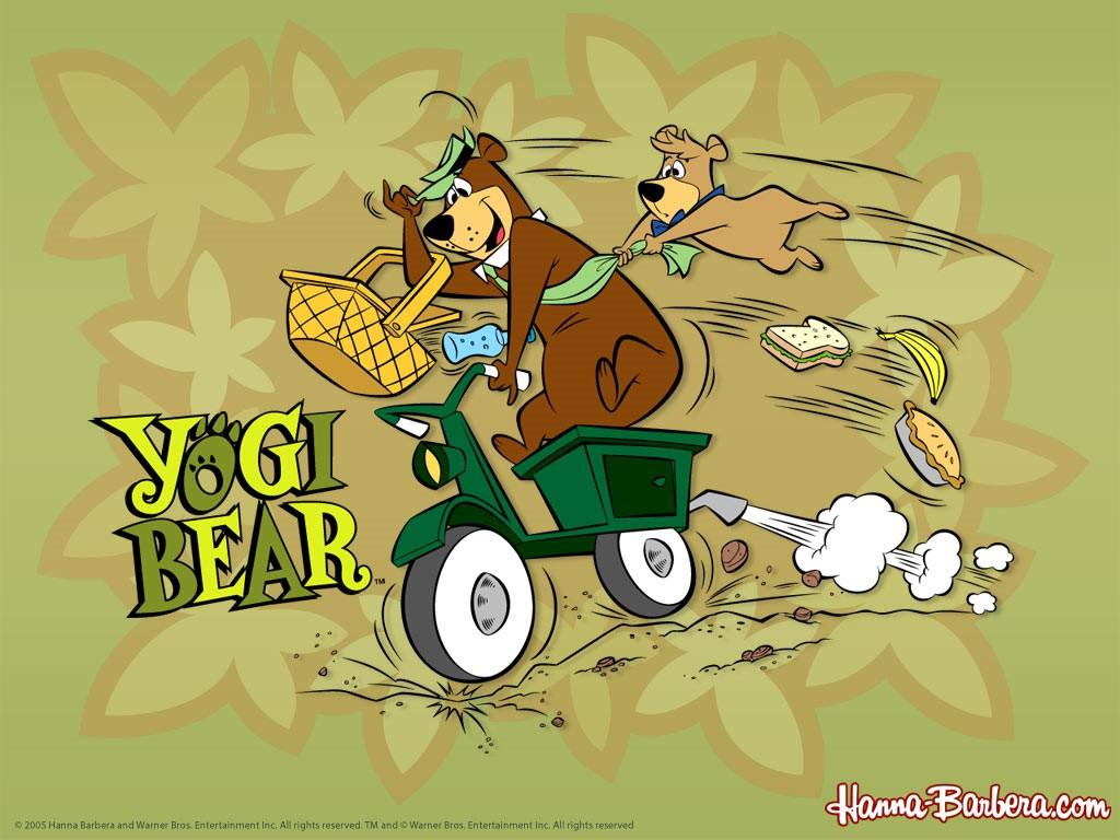 Cartoons Wallpaper: Yogi Bear