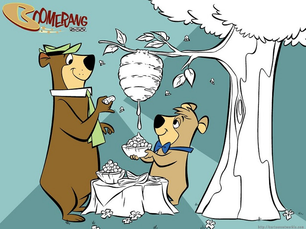 Cartoons Wallpaper: Yogi Bear