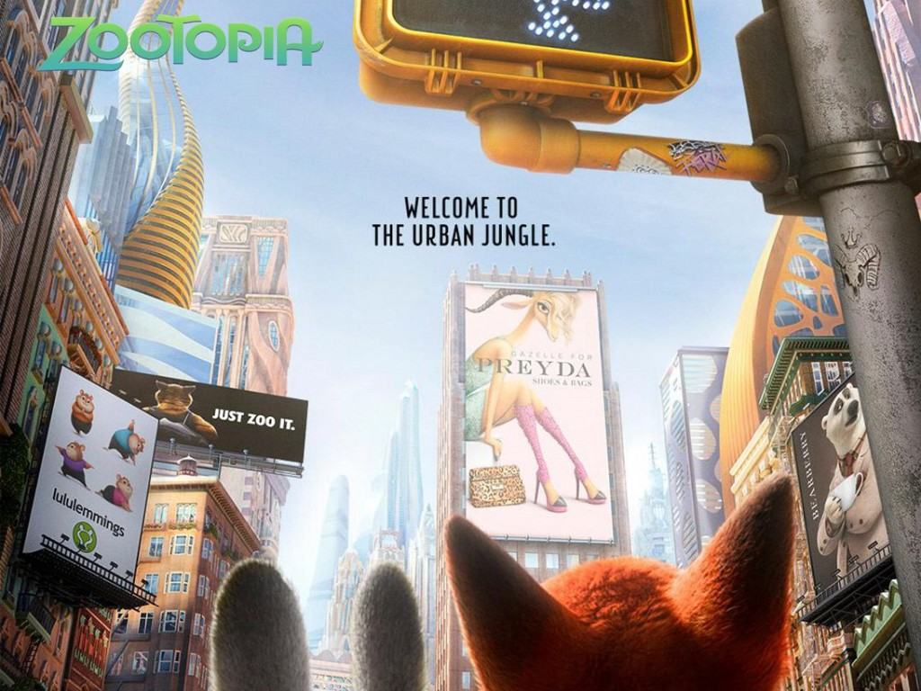 Cartoons Wallpaper: Zootopia
