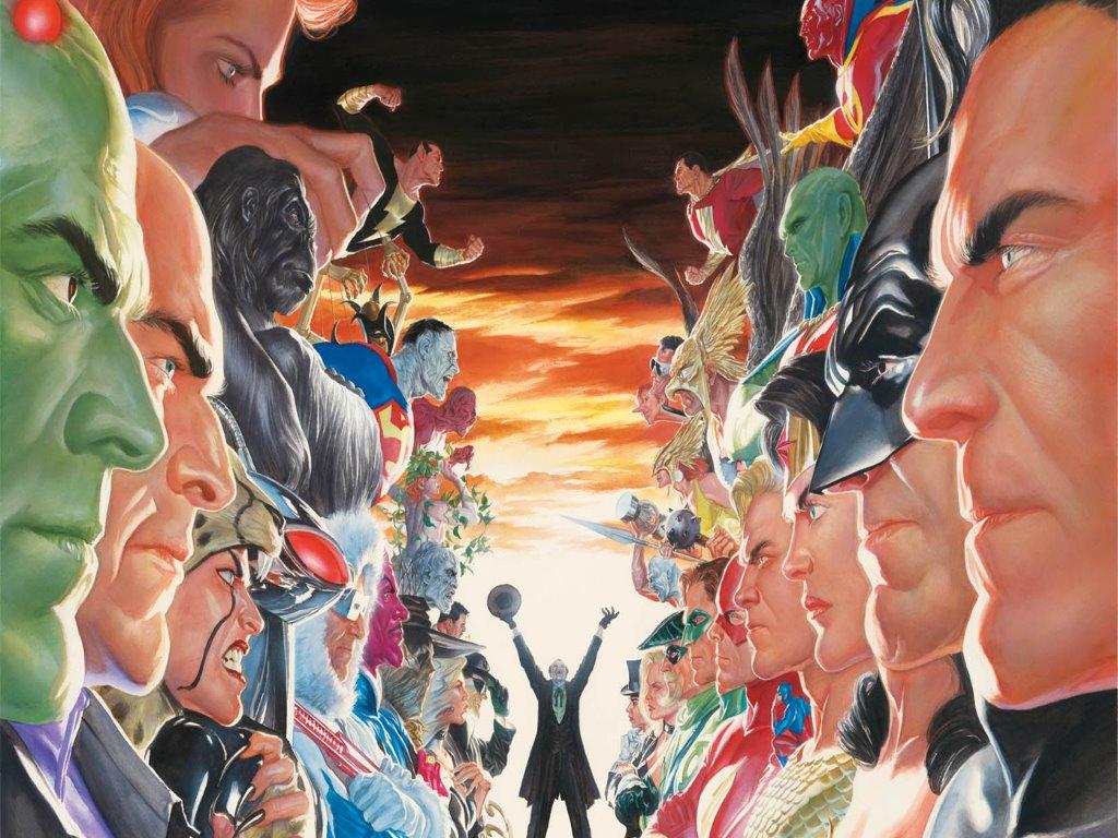 Comics Wallpaper: Justice