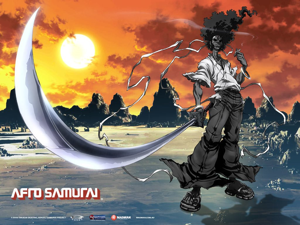 Comics Wallpaper: Afro Samurai