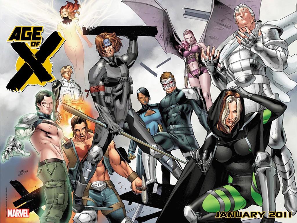 Comics Wallpaper: Age of X