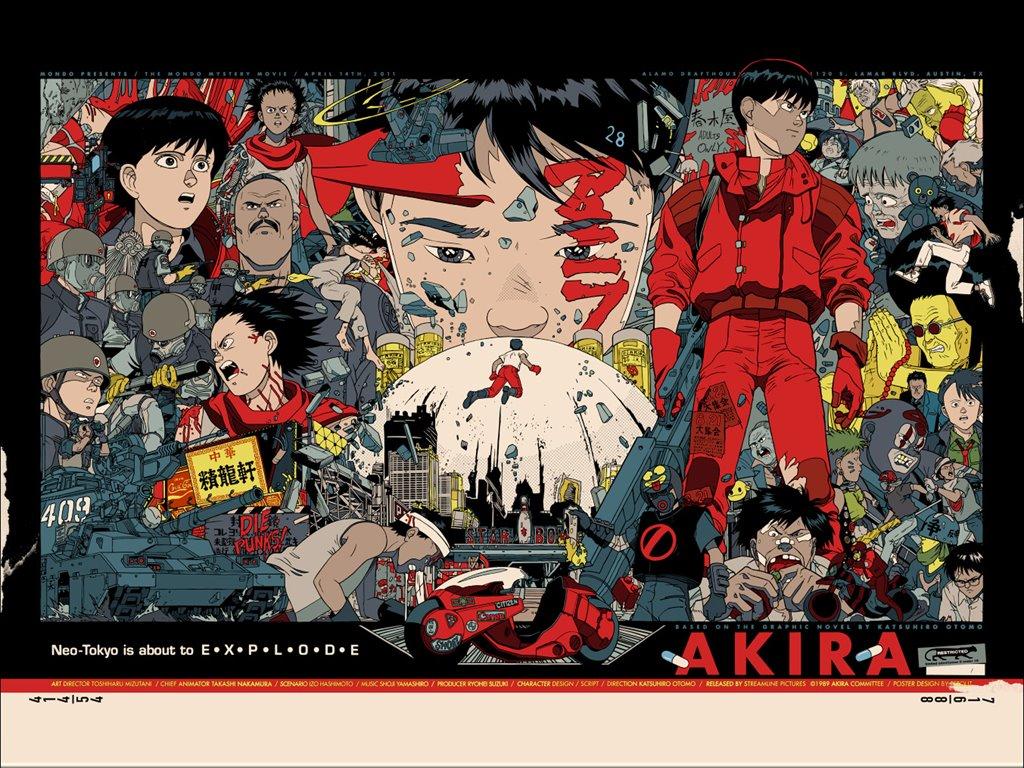 Comics Wallpaper: Akira - Poster 2011
