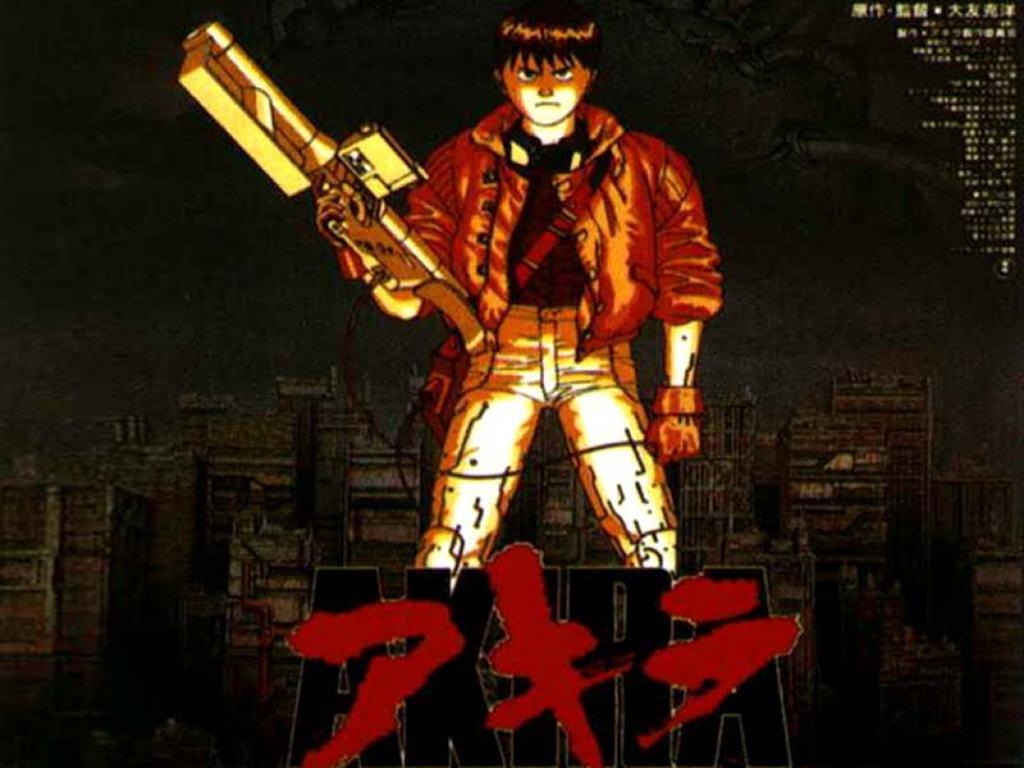 Comics Wallpaper: Akira Poster
