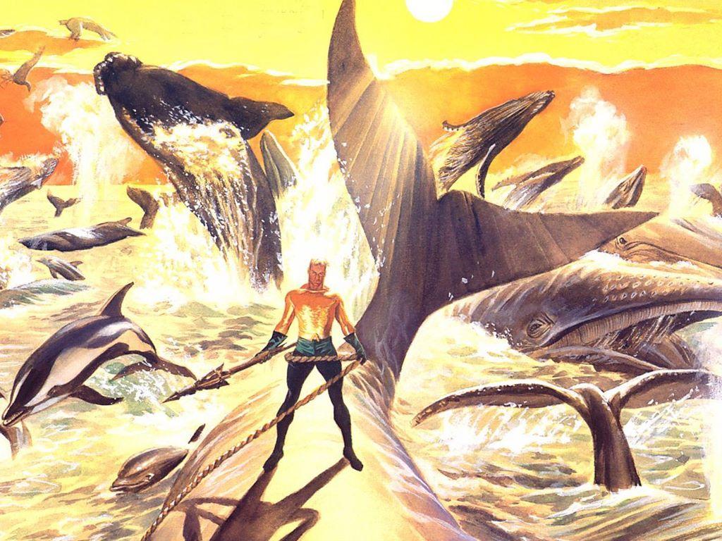 Comics Wallpaper: Aquaman (by Alex Ross)