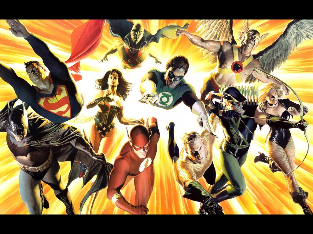 Comics Wallpaper: Justice League of America (by Alex Ross)