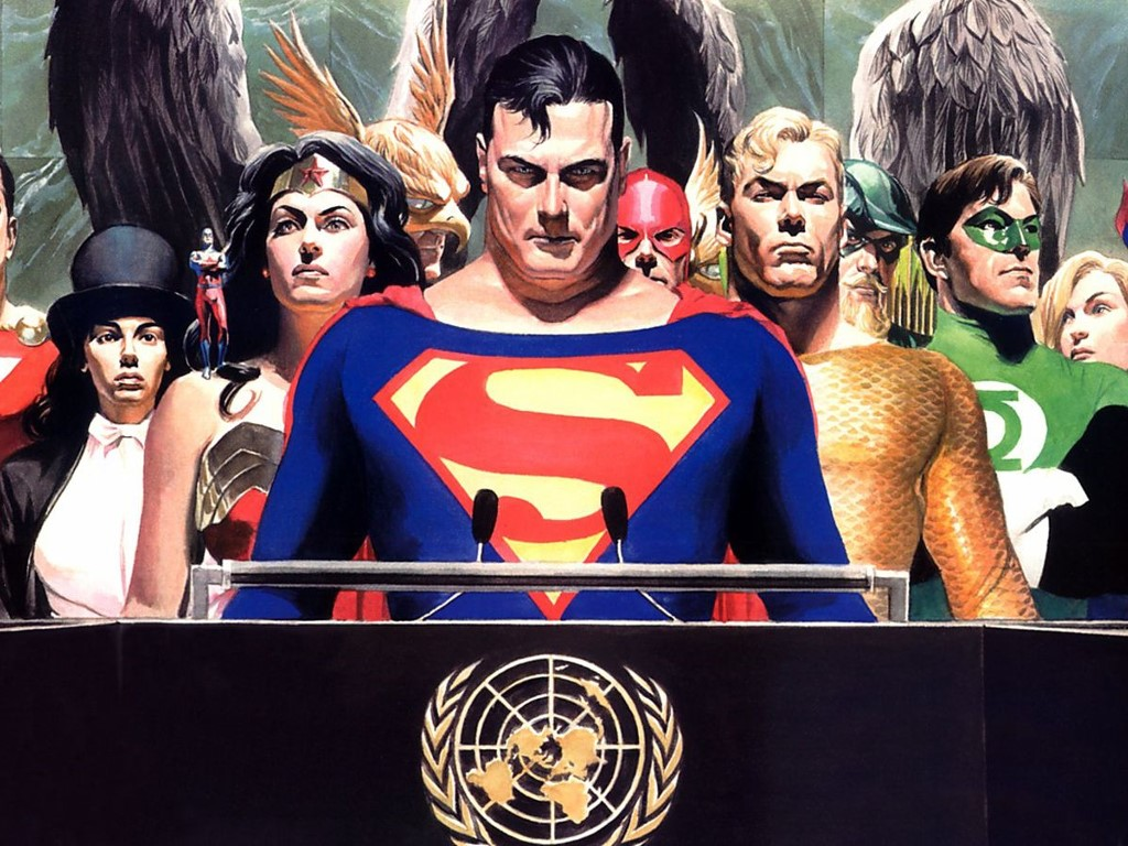 Comics Wallpaper: Alex Ross - JLA