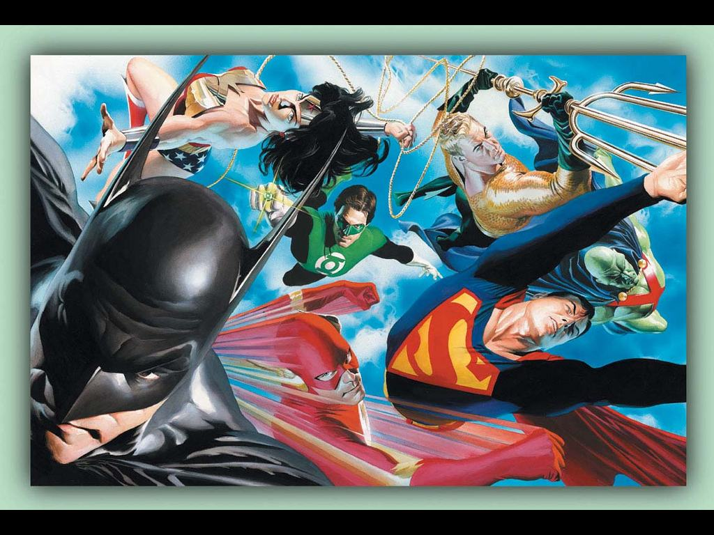 Comics Wallpaper: Alex Ross - Liberty and Justice