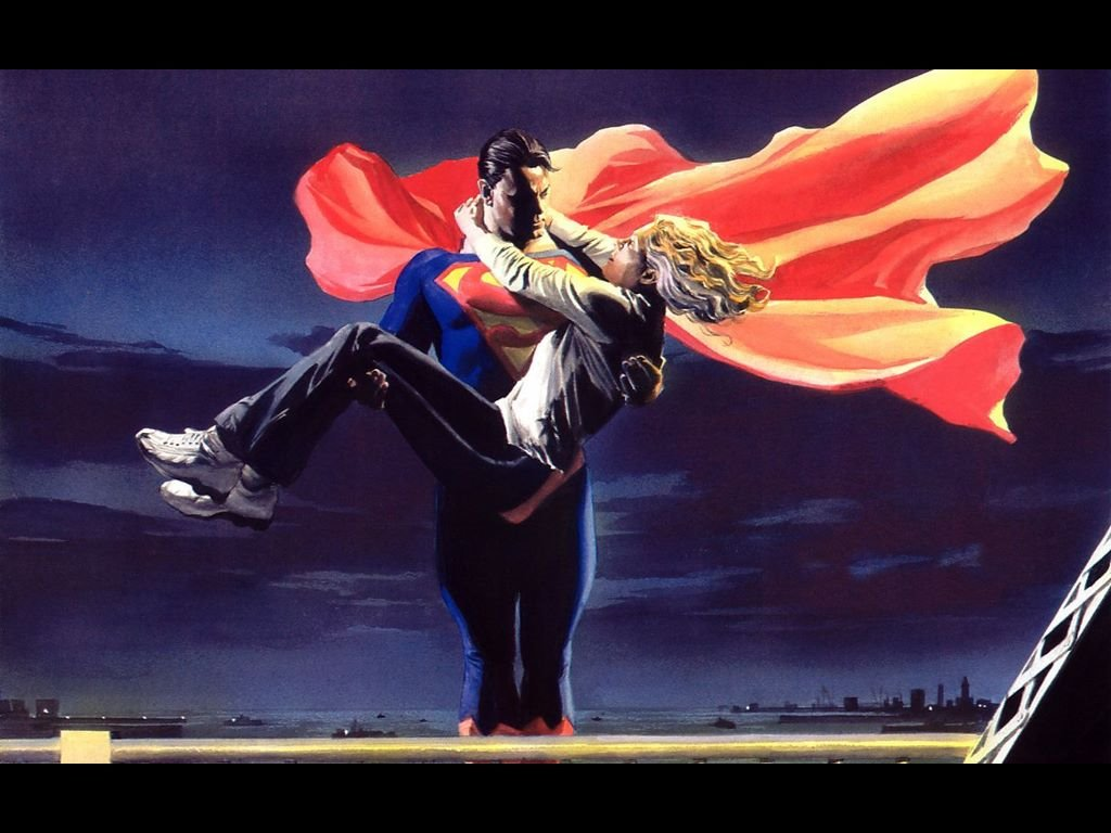 Comics Wallpaper: Superman (by Alex Ross)