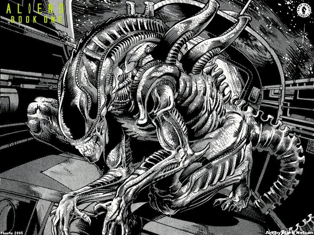 Comics Wallpaper: Alien