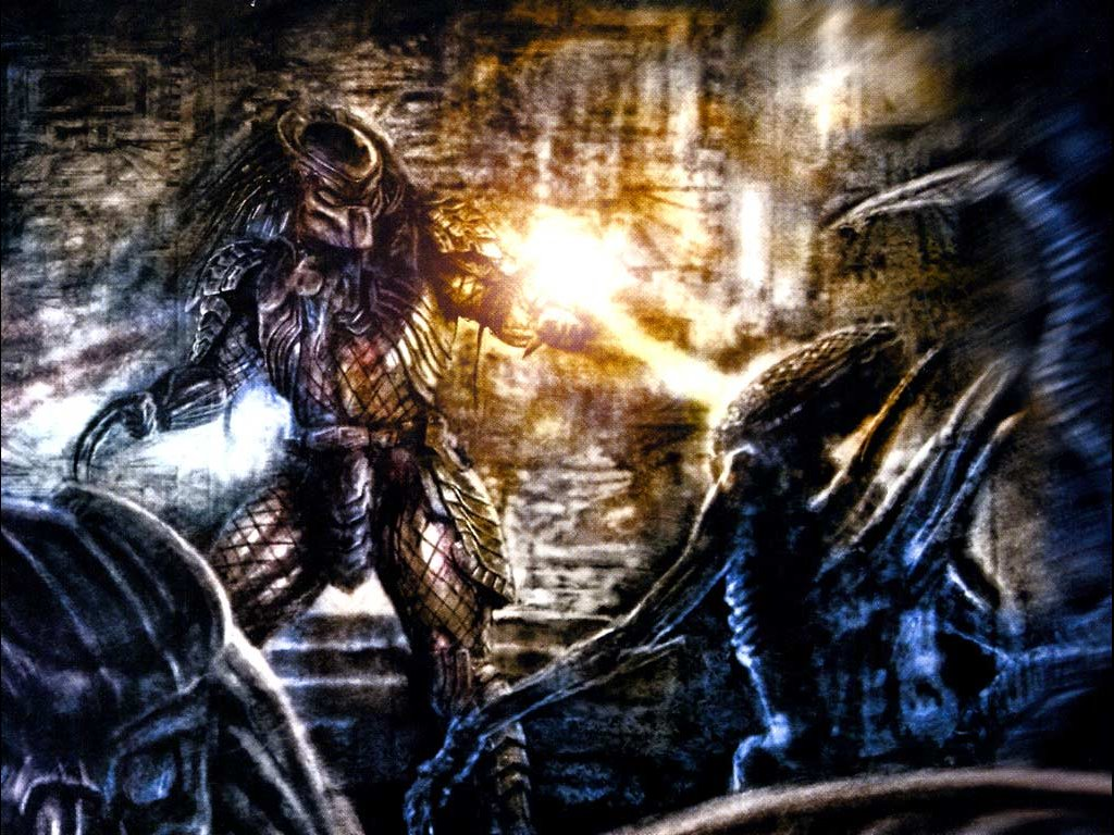 Comics Wallpaper: Aliens vs Predator