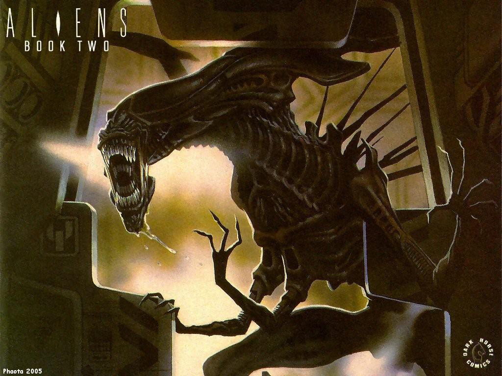 Comics Wallpaper: Aliens - Book Two