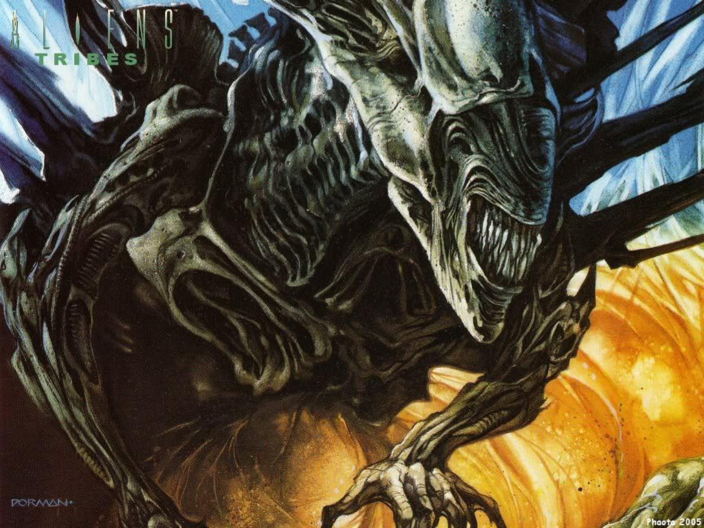 Comics Wallpaper: Aliens - Tribes