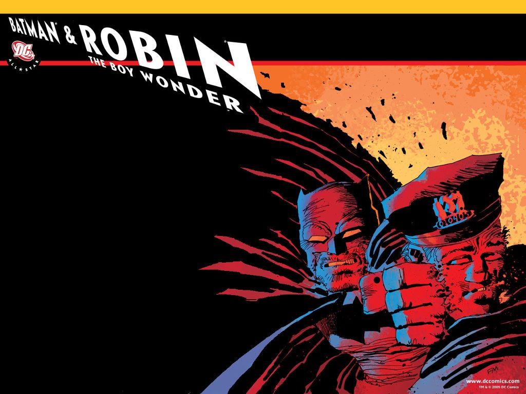 Comics Wallpaper: All-Star Batman and Robin