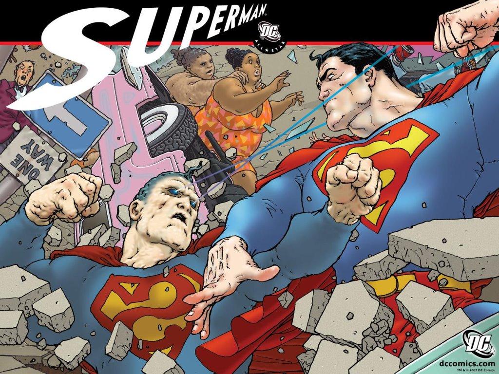 Comics Wallpaper: All-Star Superman - Bizarro