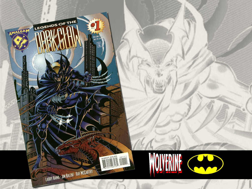 Comics Wallpaper: Amalgam - Dark Claw