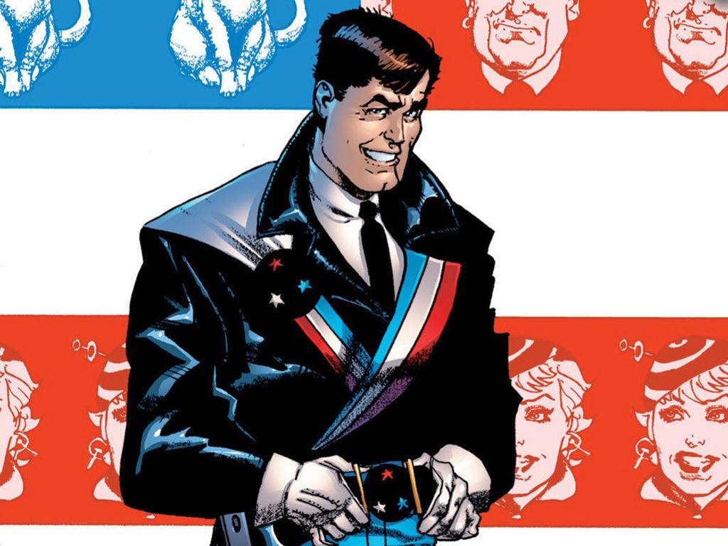 Comics Wallpaper: American Flagg