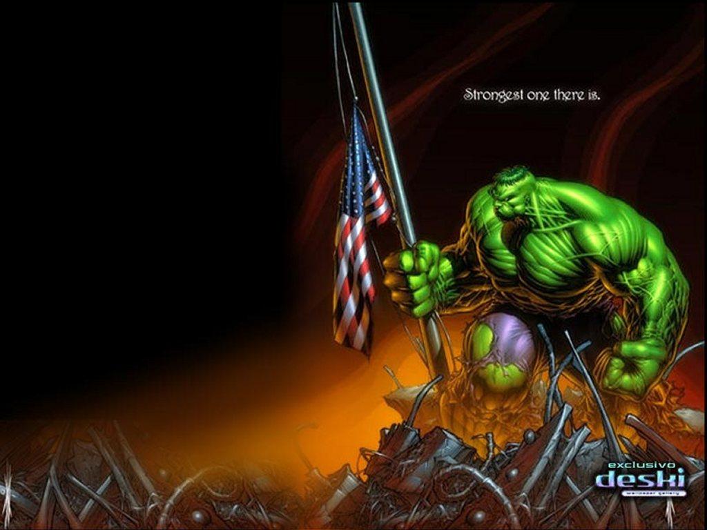 Comics Wallpaper: American Hulk
