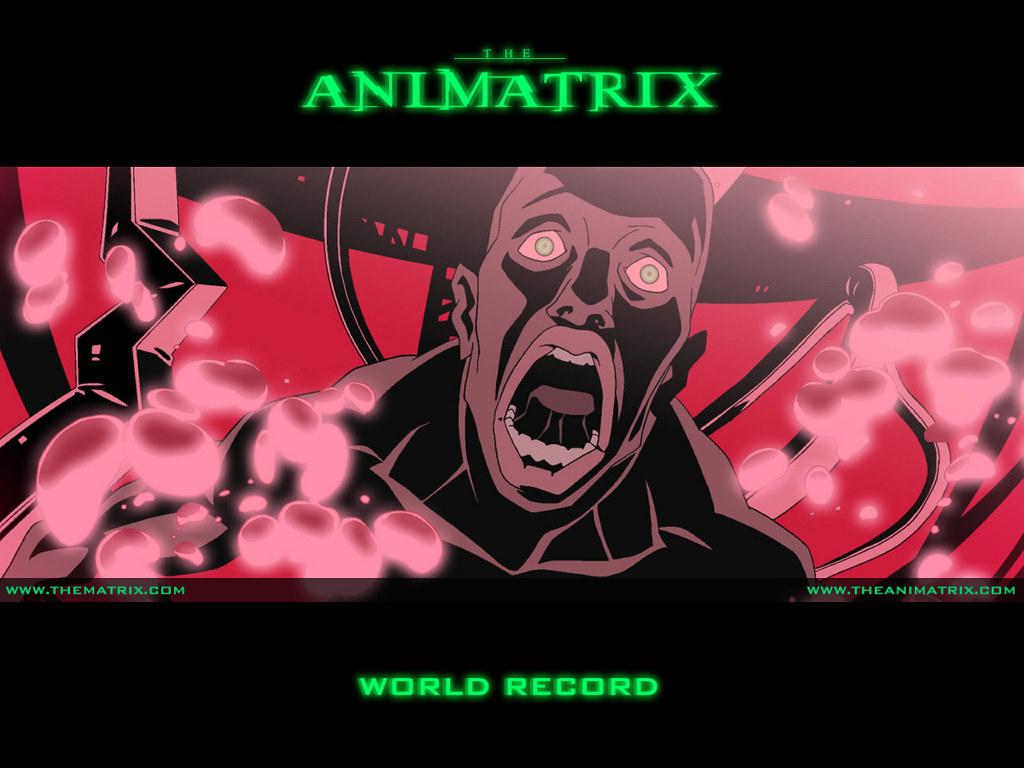 Comics Wallpaper: Animatrix - World Record