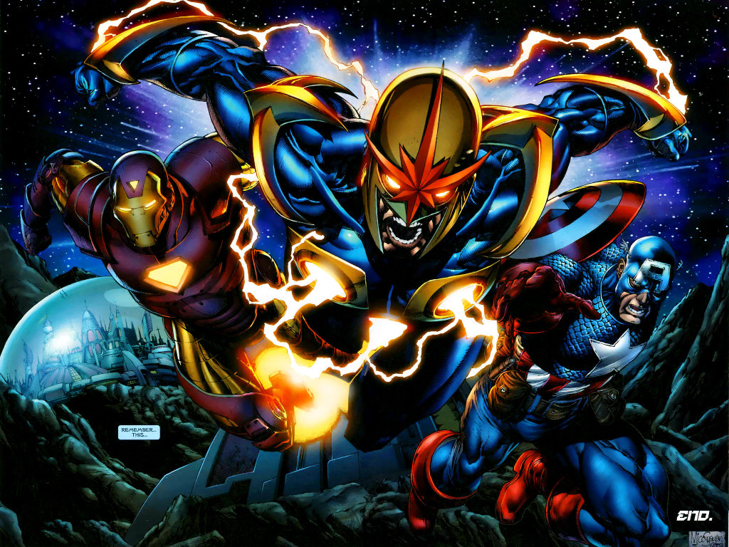Comics Wallpaper: Annihilation - Heroes