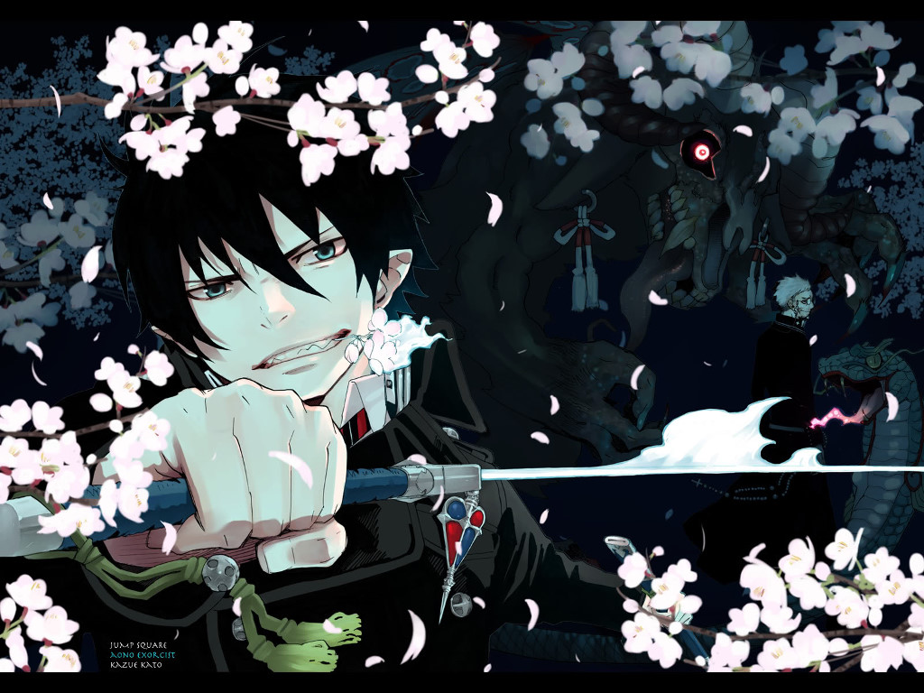 Comics Wallpaper: Blue Exorcist