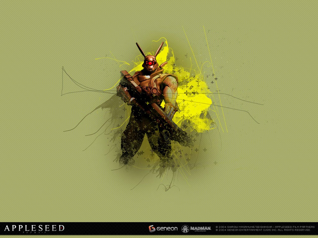 Comics Wallpaper: Appleseed