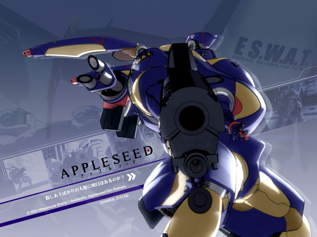 Comics Wallpaper: Appleseed