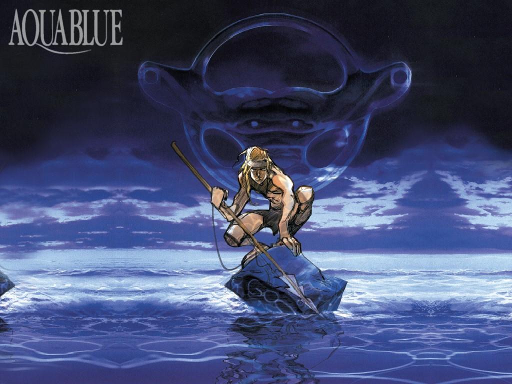 Comics Wallpaper: Aquablue