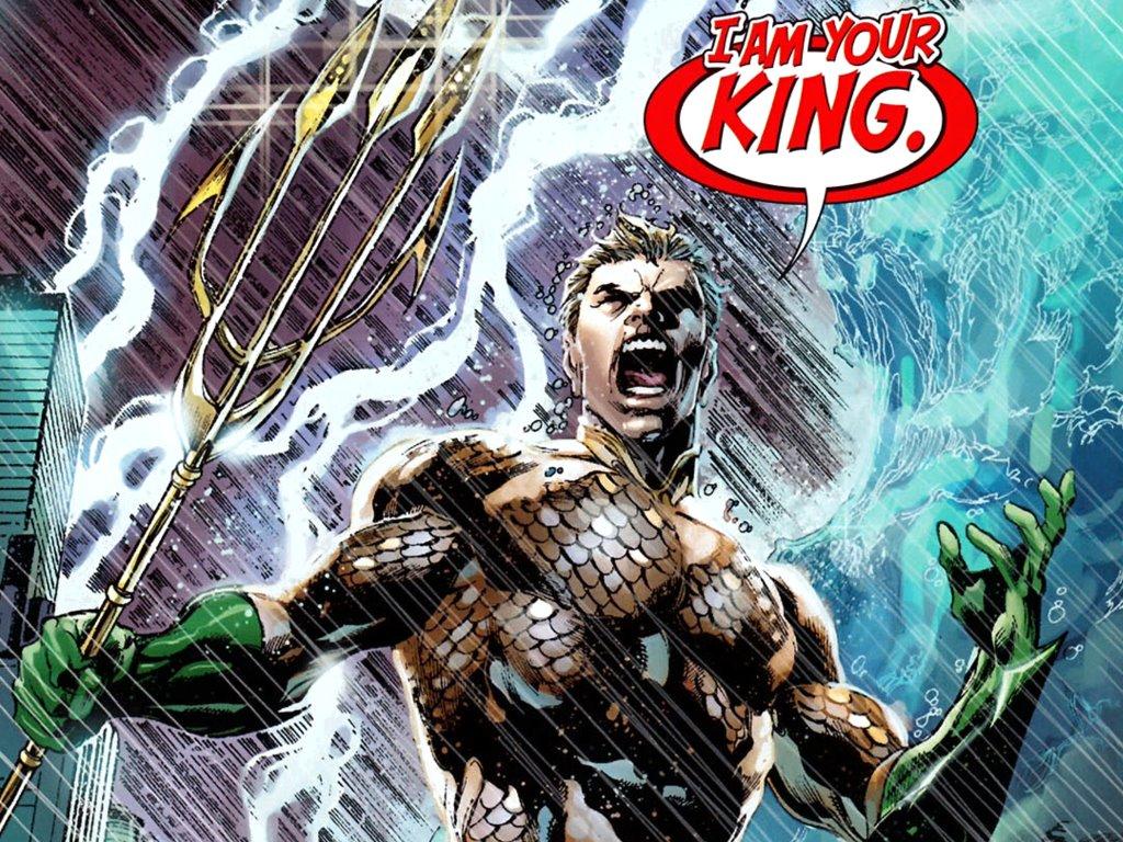 Comics Wallpaper: Aquaman - I Am Your King!